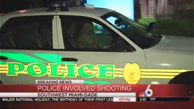 [MI] Police Open Fire On Man Who Crashed Through Crime Scene in Southwest Miami-Dade