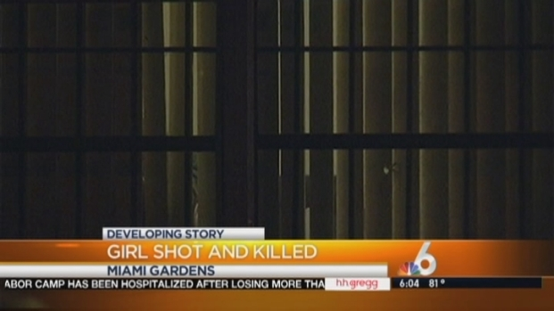 [MI] Girl, 12, Shot and Killed Inside Miami Gardens Home