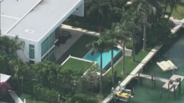 [MI] Aerial Footage of Chris Bosh's Home in Miami Beach