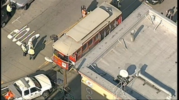 [BAY] Raw Video: Cable Car Accident in San Francisco