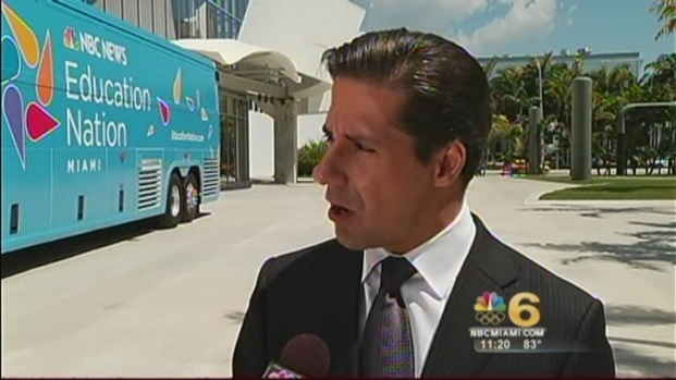 [MI] Miami-Dade Superintendent of Schools Alberto Carvalho Talks At Education Nation