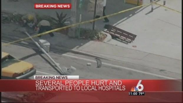 [MI] 3 in Critical Condition After Violent Miami Crash