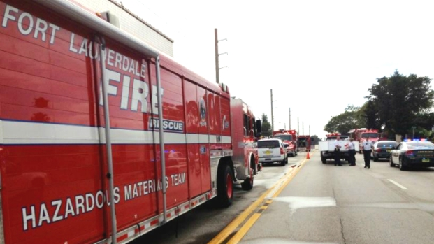 [MI] Smell of Chlorine Forced Evacuations Near Fort Lauderdale