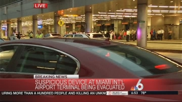 [MI] Suspicious Item Causes Evacuation at Miami International Airport