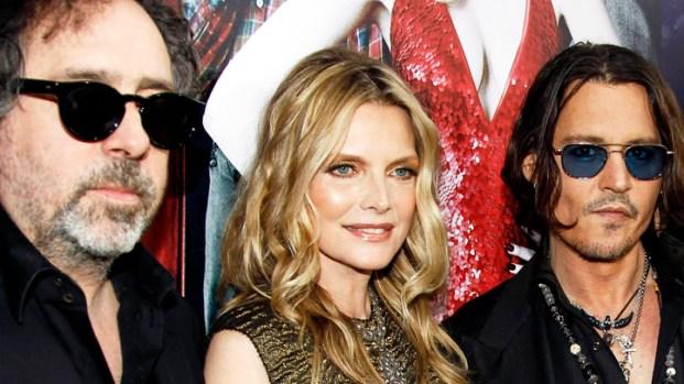 """[NBCAH] Tim Burton and Johnny Depp Discuss Wild """"Dark Shadows"""" Sex Scene"""