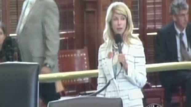 [DFW] Davis Begins Abortion Filibuster