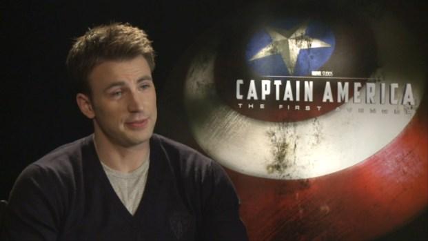 """[LA] Evans, Johnston On """"Captain America"""""""