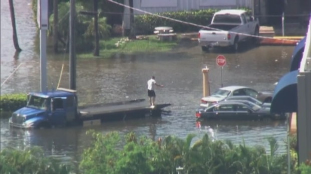 [MI] RAW VIDEO: Flooding in Doral