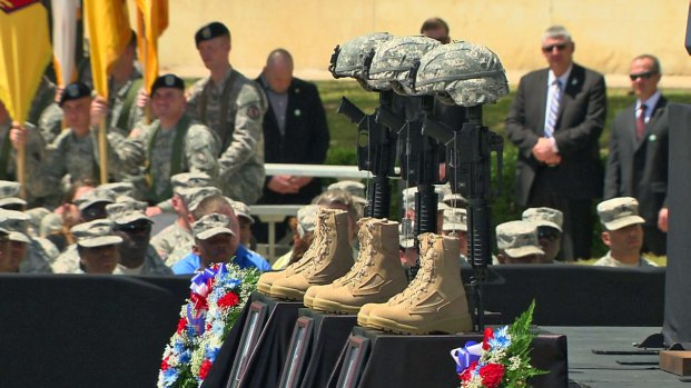 [DFW] Memorial Service in Fort Hood