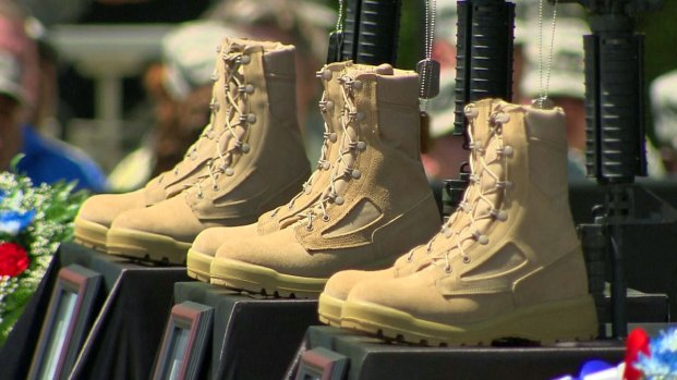 Memorial Service for Fallen Soldiers at Fort Hood