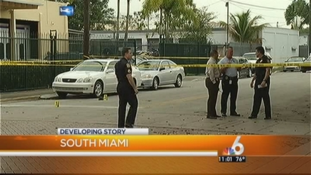 [MI] Man Shot By Bicyclist, Goes to South Miami Post Office for Help