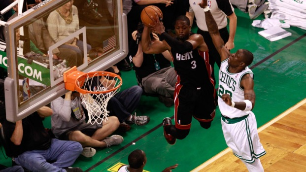 Dramatic Scenes from Heat-Celtics Game 3