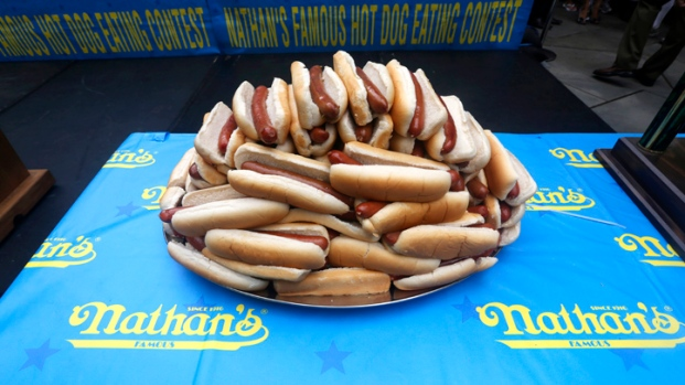 July 4 Hot Dog Eating Contest