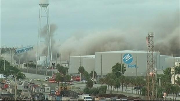 [MI] FPL Power Plant at Port Everglades Demolished