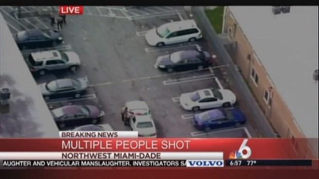 [MI] 3 People Shot in Northwest Miami-Dade