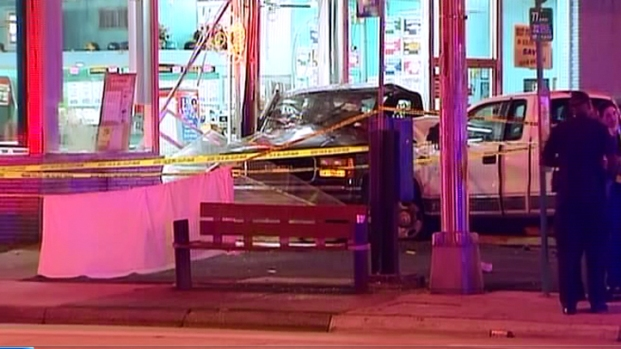 [MI] Car Slams Into Restaurant, Kills 2