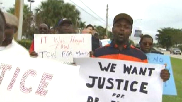 [MI] Rally Demands Accountability in Lauderhill Man's Towing Death