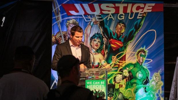 Justice League at Comic-Con