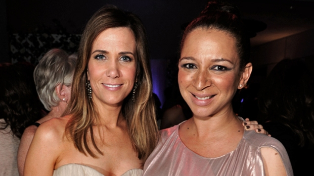 "Kristen Wiig & Maya Rudolph Say ""I Do"" to Improv in ""Bridesmaids"""