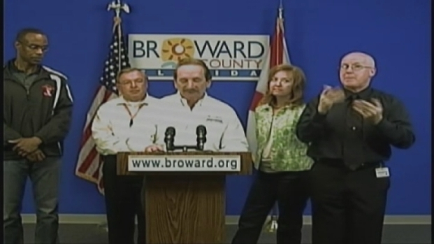 [MI] Broward Emergency Management Director Chuck Lanza Discusses Isaac