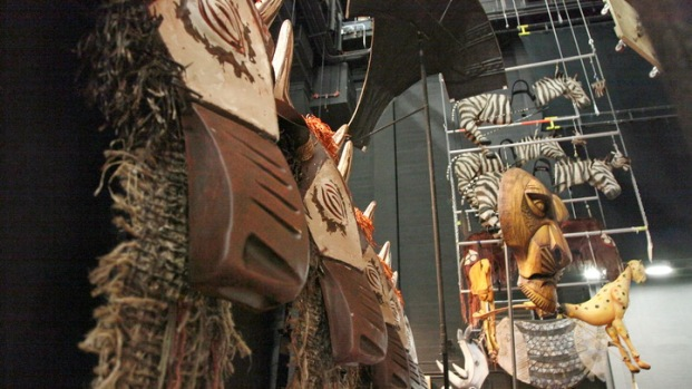 Behind The Curtain At Lion King