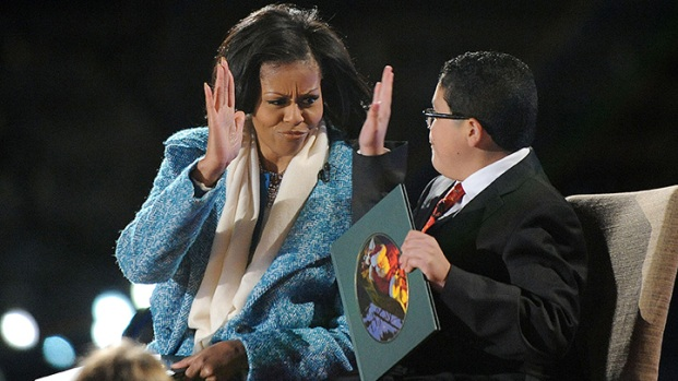 "[DC-NATL] First Lady, Rico Rodriguez Read ""Night Before Christmas"""