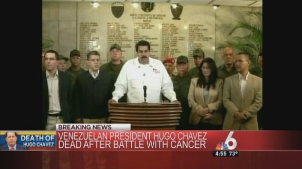 [MI] NBC 6 Coverage of Venezuelan President Hugo Chavez's Death