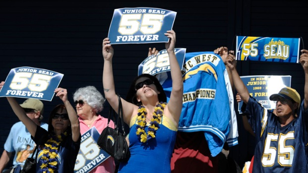 Junior Seau Celebration of Life at Qualcomm Stadium