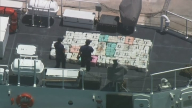 [MI] RAW VIDEO: Coast Guard Seizes $27 Million in Cocaine