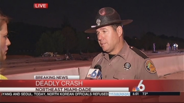 [MI] FHP Discusses Wrong-Way Crash on I-95 That Killed 4