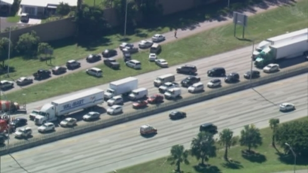[MI] Raw Video: Deputy Injured, Suspect Shot and Killed in Incident on I-95: Authorities