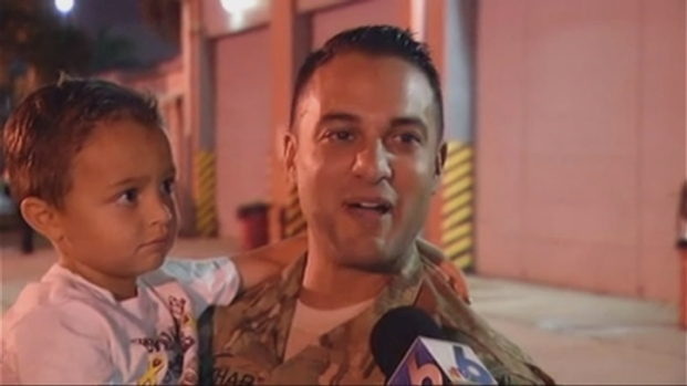 [MI] Soldier Returns to Miami From Afghanistan