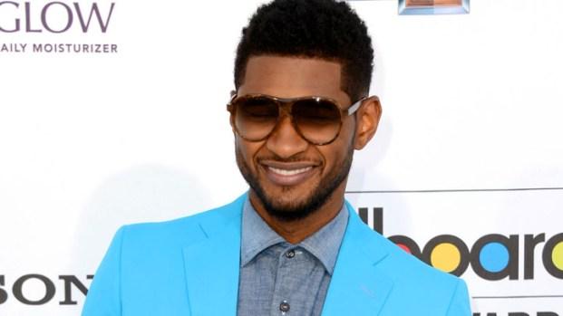 [NBCAH] Usher Talks Justin Bieber Making Forbes' Celebrity 100 List