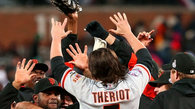 Giants Celebrate World Series Win