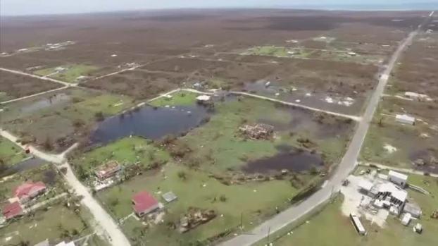 [NATL] Aerial Footage Shows Hurricane Irma Destruction in Barbuda