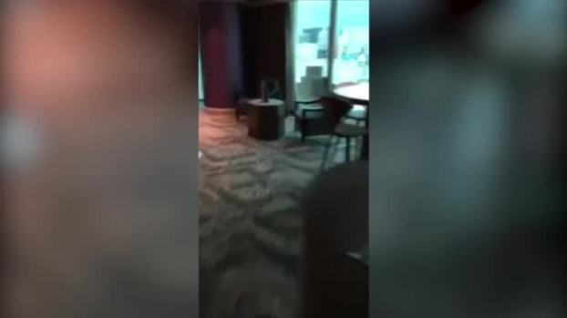 [NATL] Footage Shows Vegas Gunman's Room in 2016