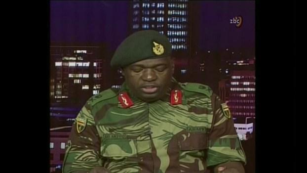 After Taking Power, Zimbabwe Army Official Says Mugabe Safe