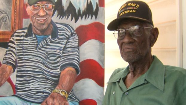 Portrait Honors Nation's Oldest Living Veteran