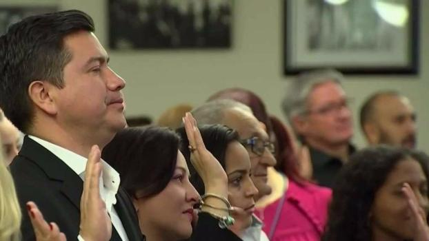 New Citizens Take Oath at Hialeah Ceremony