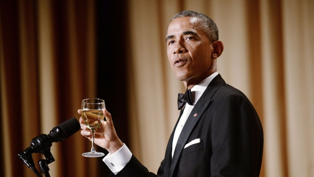WATCH: Obama Jokes at Correspondents' Dinner