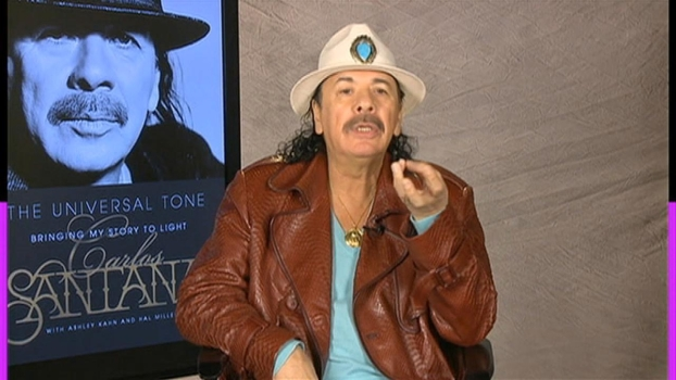 Carlos Santana Talks New Memoir