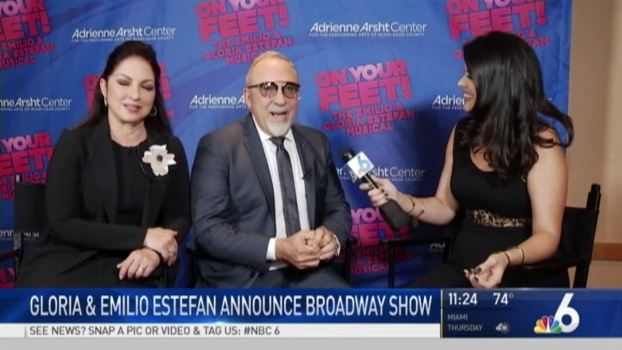 Estefans Bringing 'On Your Feet' to South Florida Stage