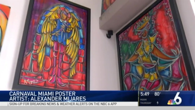 Carnaval Miami 2017: The Artist Behind the Poster