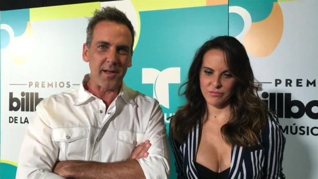 Carlos Ponce, Kate del Castillo Discuss Hosting Billboard Latin Music Awards