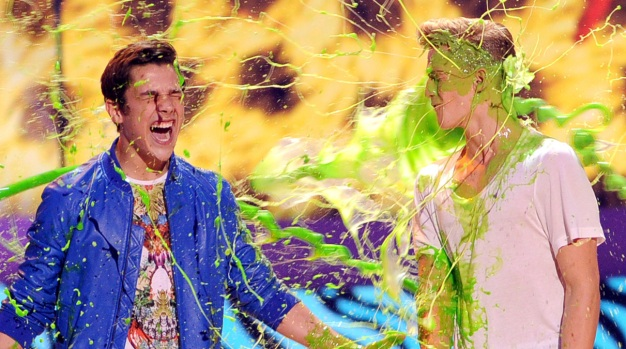 [NATL] Slime and Stars at Kids' Choice Awards