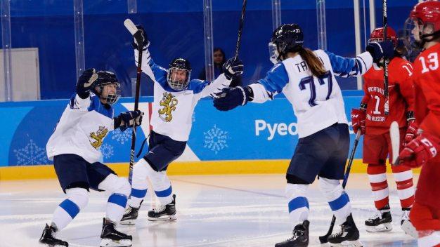 Finland Wins Women's Hockey Bronze, Beating Russians 3-2
