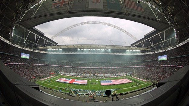Kickoff Time Announced for Dolphins Game at Wembley