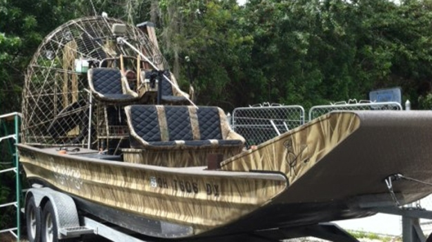 Airboat Fire Injures One Person in Broward County