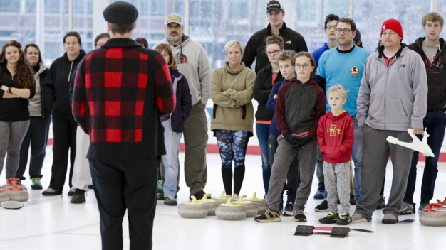Curling Craze: Olympic Gold Prompts the Curious to Try Sport