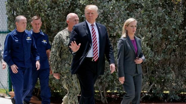 Trump Gets 'Great Education' on Anti-Drug Effort in Key West